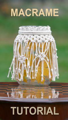25 Best Macrame Design Idea – Knitting And We Macrame Knots, Micro Macrame, Macrame Jewelry Tutorial, Bracelet Tutorial, Macrame Design, Macrame Projects, Boho Diy, Macrame Patterns, Projects To Try