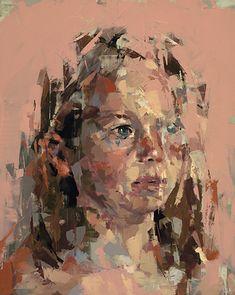 Kai Samuels-Davis I Of Wonder, 2016 I Oil on panel I 20 x 16 inches