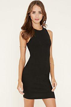 Cutout-Back Mini Dress