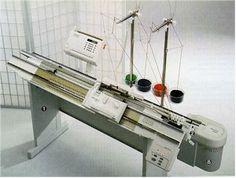 Passap e-600 knitting machine