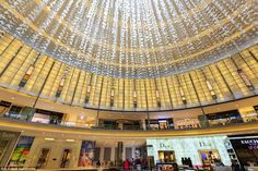 The Dubai Mall, which is the world's largest shopping centre, is located in downtown Dubai...