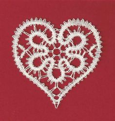 Discover recipes, home ideas, style inspiration and other ideas to try. Hairpin Lace Crochet, Crochet Motif, Crochet Purse Patterns, Bobbin Lace Patterns, Crochet Purses, Lacemaking, Lace Heart, Point Lace, Lace Jewelry