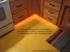 Eco-Friendly Flooring @ Common Sense Homesteading