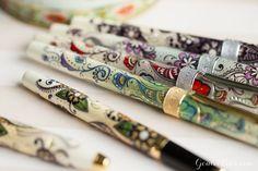 Cross Botanica Fountain Pen - Green Daylily, Fine