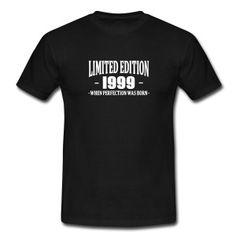 Limited Edition 1999 Tee shirts