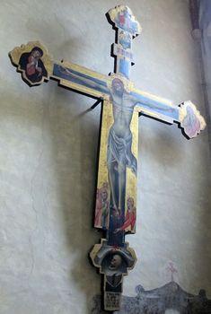 Simone dei crocifissi, crocifisso, 1370.