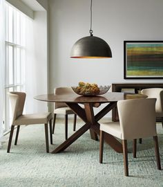 "Apex 64"" Round Dining Table 
