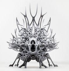 Nick Ervinck 3 D sculpture