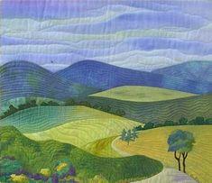 Image result for landscape quilts