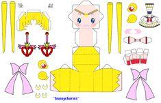 Despues de un buen tiempo sin poder hacer nuevos papercrafts ya pude terminar un modelo nuevo asi que aqui les dejo a Sailor Moon espere les guste