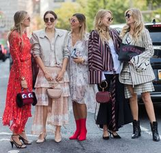 See what influential women in fashion are wearing on the streets of New  York Fashion Week. Click through to be inspired as we update the gallery  daily. 300722bd405