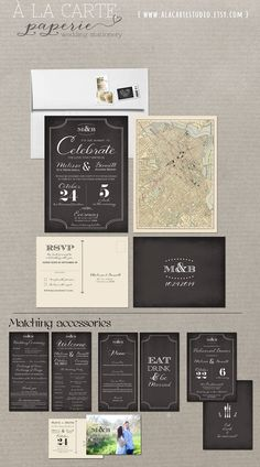Welcome to A la carte Paperie! This listing is a ONE-TIME DESIGN CUSTOMIZATION fee : including option to change wording and background and font