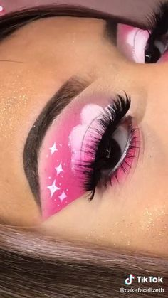 Party Eye Makeup, Halloween Eye Makeup, Eye Makeup Steps, Eye Makeup Art, Makeup Geek Eyeshadow, Makeup Morphe, Makeup Tutorial Eyeliner, Bright Eye Makeup, Colorful Eye Makeup
