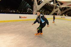 Patinando en la pista de hielo auténtico, programación especial Navidad 2014-2015 http://www.cac.es/navidad/programacion.jsp