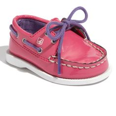 For my adorable Diva Niece!!  Baby Sperries-ADORE!