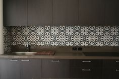 These tiles would be great on a bathroom floor Tiles by Kate