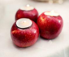 Comment transformer la pomme de Blanche-Neige en bougie ?