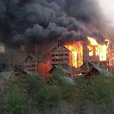 fire in pigeon forge tn