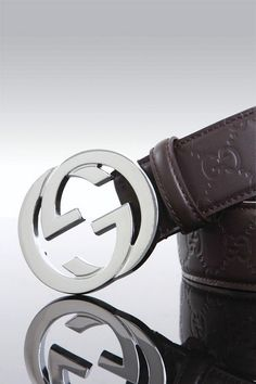 7bcb2ac1da7 Gucci Dark Brown Guccissima Leather Belt With Interlocking G Buckle Sku   120829 Style 114984