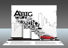 Audi A1 Direct Mail Concept by Craig Pattenden, via Behance