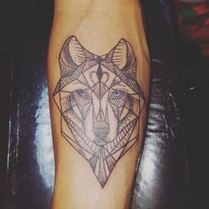 101+Meaningful+Wolf+Tattoo+Designs