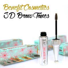 Benefit Cosmetics 3D Brow tones