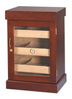 Welcome to the largest selection of humidors, cigars, and cigar accessories. We teach you everything you need to know about cigars and humidors. Cigar Humidor Cabinet, Buy Cigars, Cigar Accessories, Small Cabinet, Beveled Glass, Mold And Mildew, Furniture Styles, Storage Boxes