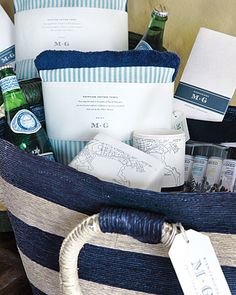 amazing welcome bag for destination wedding
