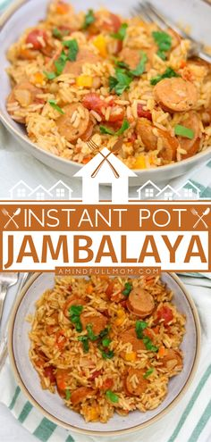 It will only take you less than 30 minutes to throw together this easy meal from start to finish! Instant Pot Jambalaya does not disappoint. Full of classic Creole flavors, this Mardi Gras food is sure to become a family favorite! Put this recipe on your dinner menu! Instant Pot Pressure Cooker, Pressure Cooker Recipes, Tasty, Yummy Food, Yummy Recipes, Mardi Gras Food, Best Instant Pot Recipe, Jambalaya, 30 Minute Meals