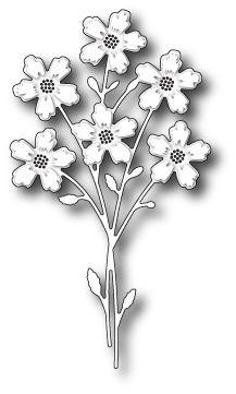 "Blushing Bouquet - $13.49  Pretty spray of flowers!       2.6"" x 4.6"""