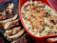 Ancho-Rubbed Turkey Breast With Cilantro-Habanero Potato Gratin (for ...