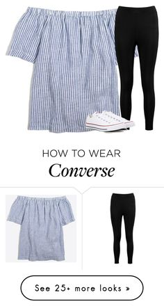 """Untitled #2611"" by laurenatria11 on Polyvore featuring J.Crew, Boohoo and Converse"