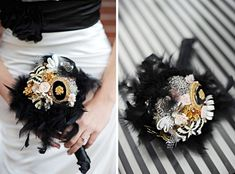 Wedding bouquet brooches