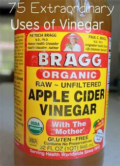 Post from: beautytips4her.com      Undoubtedly, most of us are familiar with the countless uses of vinegar particularly at home, from windows to the outflow pipes of your A/C. Thus, a number of natural home remedies mention vinegar