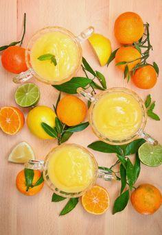 Receta 1056: Crema cuajada de Limón » 1080 Fotos de cocina