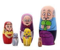 The Giant Turnip Nesting Dolls Matryoshka Cartoon Russian Dolls