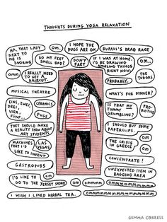 yoga thoughts by gemma correll