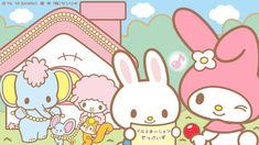 Melody, Piano, Rhythm et friends Little Twin Stars, Little Girls, My Melody Wallpaper, Sanrio Characters, Fictional Characters, Gal Pal, 90s Kids, Eat Cake, Piano