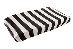 Danha Changing Pad Cover (Black & White Stripe) Danha
