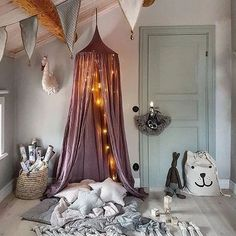 Inspiration of Tip Round Dome Mantle Cotton Tent Bed Canopy for Baby Playroom - . - Inspiration of Tip Round Dome Mantle Cotton Tent Bed Canopy for Baby Playroom – bed canopy diy, - Kids Bed Canopy, Bed Tent, Canopy Curtains, Baby Bedroom, Girls Bedroom, Baby Playroom, Playroom Decor, Little Girl Rooms, Kid Spaces