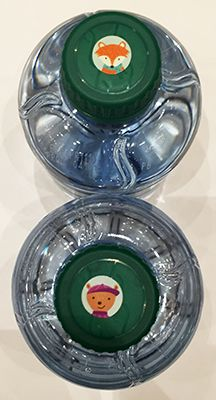 A new use for Hot Spots Stickers!  Label student water bottles with these fun little stickers so they can keep track of which one is theirs.  We used the Winter Woodland Friends Hot Spots Stickers at the SDE conference to keep track of staff bottles.