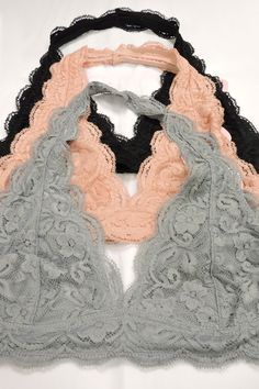 1bf280f8b7a Lace Halter Bralette New Wardrobe