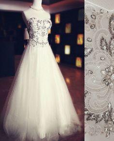 Sexy Wedding Dress,Sleeveless Tulle A Line Bridal Dress by fancygirldress, $179.00 USD