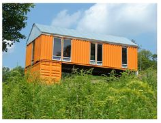 Shipping Container Homes: Tim Steel Structures - Livingston Manor, NY - Container House  http://homeinabox.blogspot.com.au/2012/06/tim-steel-structures-livingston-manor.html