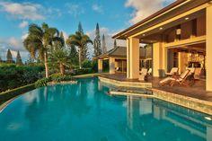 Maui Luxury Home.  M