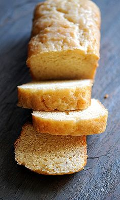 eggnog bread/cake - wow, I've never heard of such a thing and can't wait to try this!