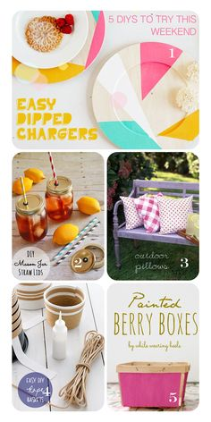 Heart Handmade UK: 5 Easy DIY Crafts To Try This Weekend