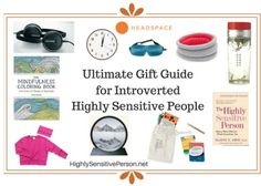 Presents for introverted HSPs for Christmas, birthdays, and more.