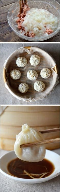 Steamed Shanghai Soup Dumpling, 小笼包 by the Woks of Life