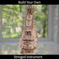 Hurdy Gurdy Mechanical Kit Go from playing an instrument to building one. This hurdy-gurdy mechanical model is an acoustic string instrument that you truly call. Hurdy Gurdy, Cool Inventions, Cool Tech, Kit, Cool Gadgets, Things To Buy, Musical Instruments, Medieval, Musicals
